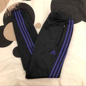 Adidas Purple Soccer Sweats